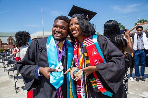 Jepson grads and Bonner Scholars
