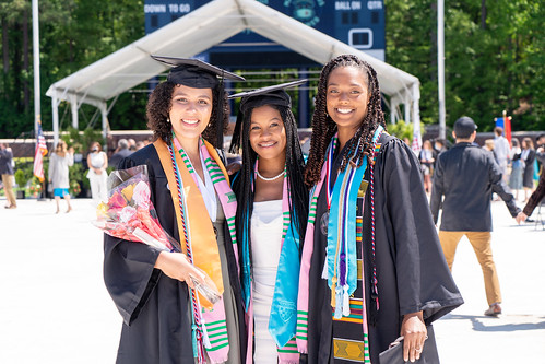 Three proud Jepson grads