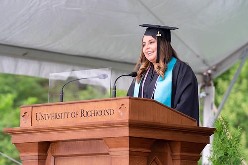 Student Commencement speaker Ana Paula Alvarado