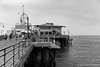 Santa Monica Pier on a lazy Sunday morning by waterman1