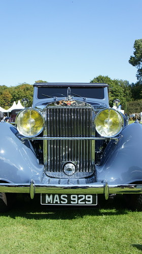 Concours of Elegance, Holyrood Palace, 6th September 2015