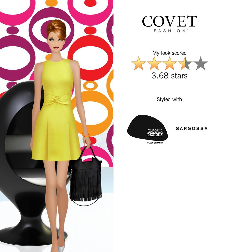 My Look Scored Stars In The Mod Maven Challenge In Covet Fashion