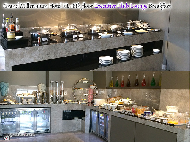 Grand Millennium KL Executive Club Lounge Breakfast