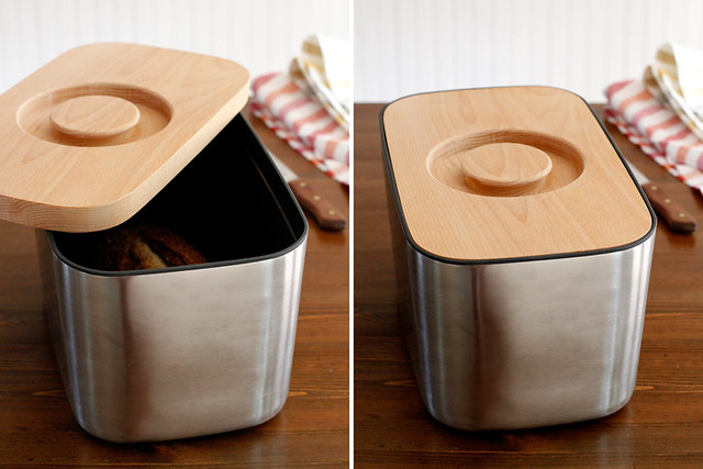 Joseph Joseph Bread Bin Review & Giveaway | girlversusdough.com @girlversusdough #bread #breadbin #review #giveaway