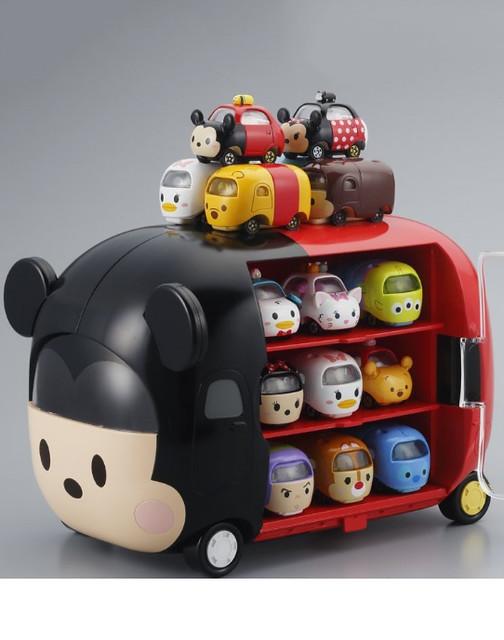 TOMICA  迪士尼堆疊小車 (LINE:迪士尼消消樂) 的【米奇展示收納車】!!