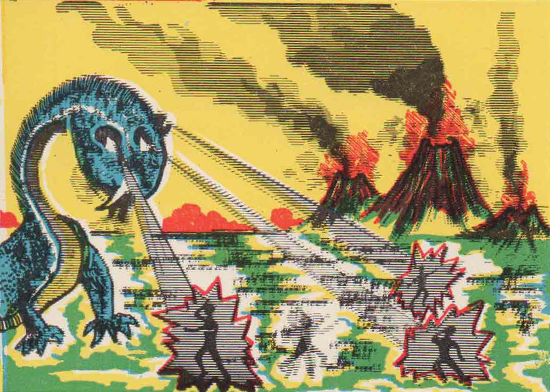 Monster Magic Action Trading Cards (1963) 19