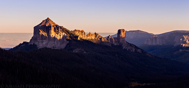 Courthouse Mountain Sunrise