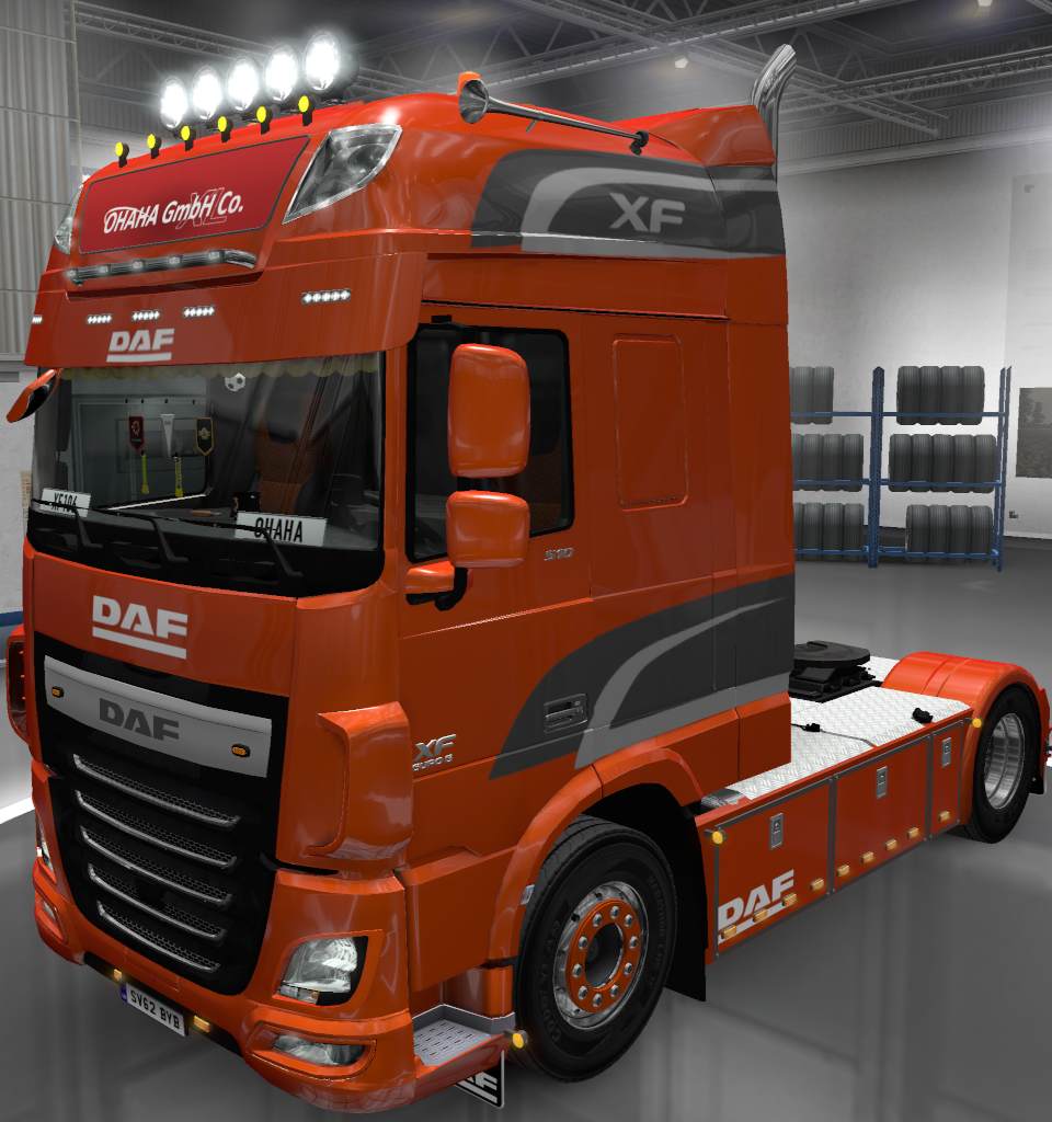 REL] DAF XF E6 by ohaha [v1 73] - SCS Software