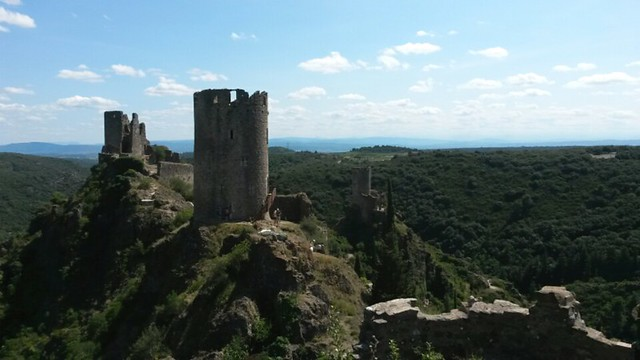 Castle near Quillan