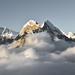 Peak sunset gray by Koryagin Yegor