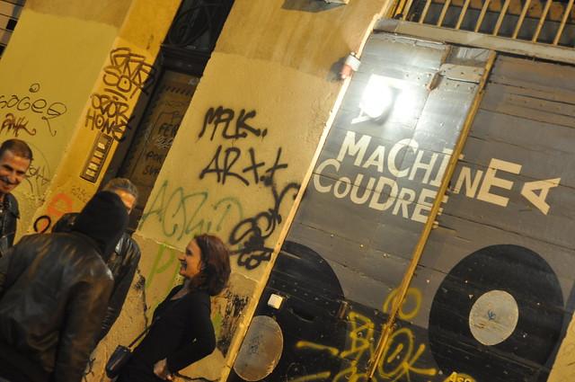 avis et critique du concert de la flingue cheap riot le 24 octobre 2015 machine coudre. Black Bedroom Furniture Sets. Home Design Ideas