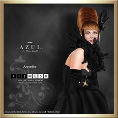 (IMAGE) Annette (c)-AZUL-byMamiJewell