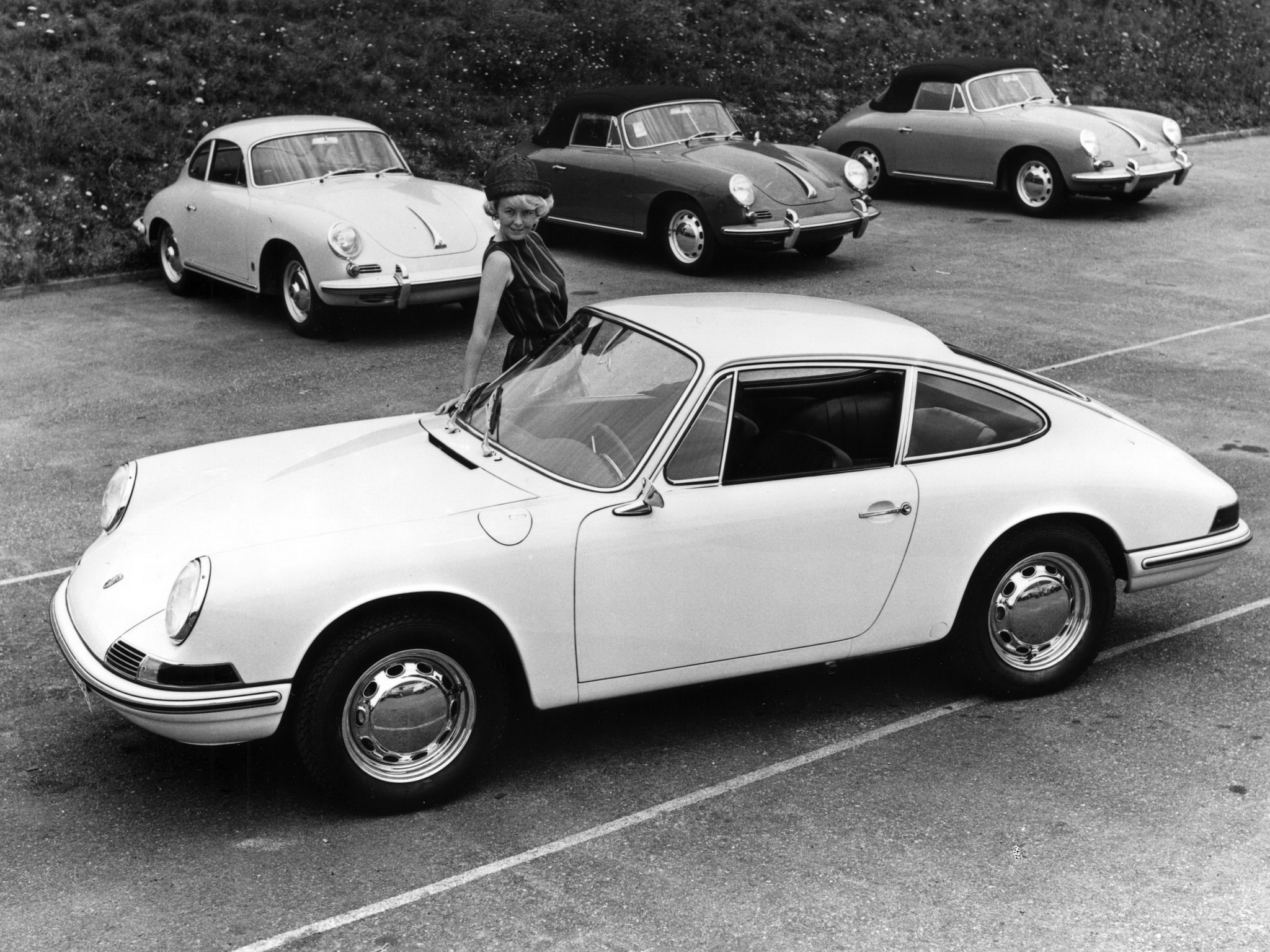 Porsche 901 Coupe Prototype (901). 1962 год