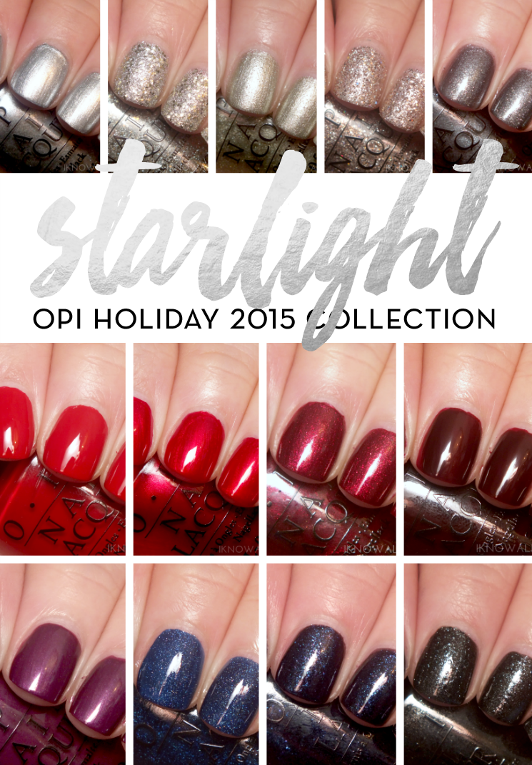 OPI Starlight Collection (2)