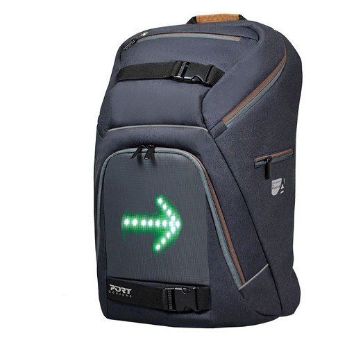 Seguridad para el ciclista: Mochila con intermitentes led integrados: Go Led