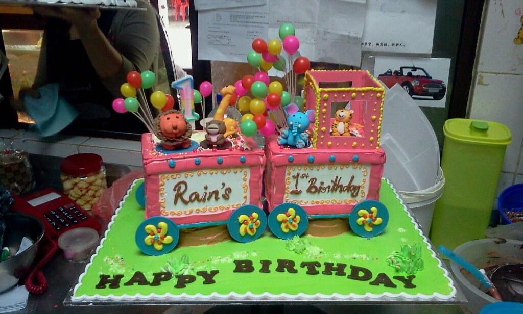 1st Birthday Cake Malaysia Memorable First Cake