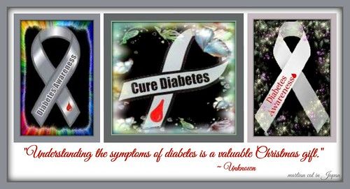 Understanding the symptoms of diabetes is a valuable Christmas gift.""