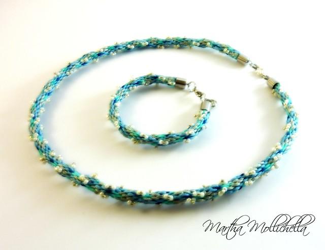 Kumihimo jewelry handmade in Italy