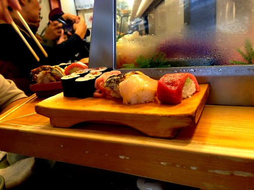Food Hunting, Sushi