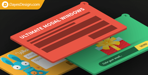 Ultimate Modal Windows v3.1 – the most powerful popups & flyouts creator with built-in forms