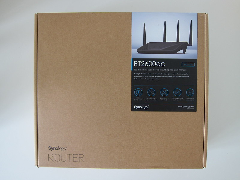 Synology Router RT2600ac - Box Front
