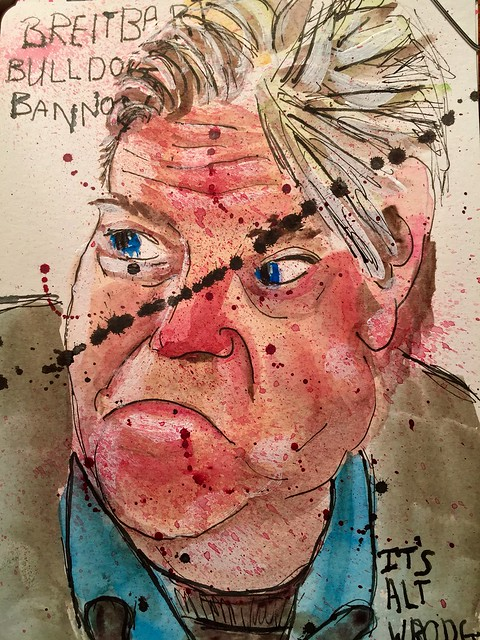 Breitbart Bulldog Steve Bannon has hired a couple of his news cohorts to assist him in advising #Presidenttinyhands. Steve is registered to vote in two states.