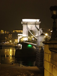 Image of Chain Bridge. ブダペスト budapest βουδαπέστη