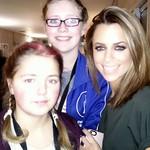 Deliah und Justine mit Vanessa Mai