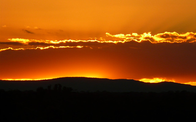 Orange Sunset Wallpaper HD, Panasonic DMC-FZ18