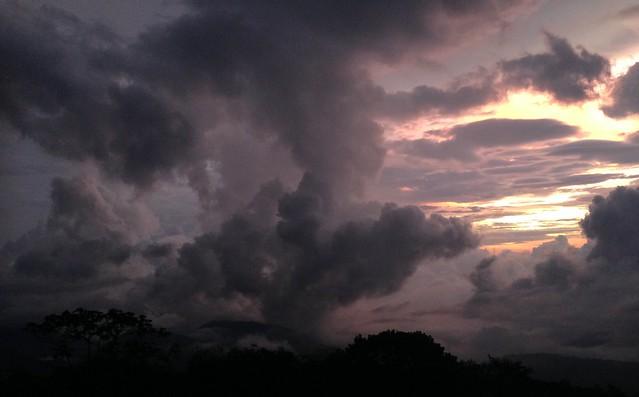 Sunset, El Dorado Nature Reserve