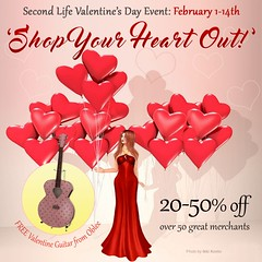 Shop Your Heart Out: 1st - 14th Feb