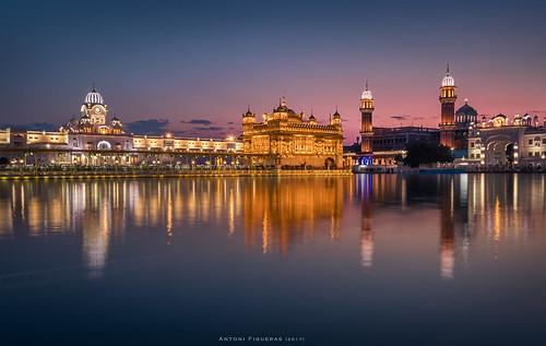 amritsar sikh sunrise harmandirsahib punjab india reflections sonya7rii sony1635f4 longexposure