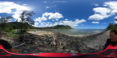 The Kahana Bay Fishpond - a 360° Equirectangular VR