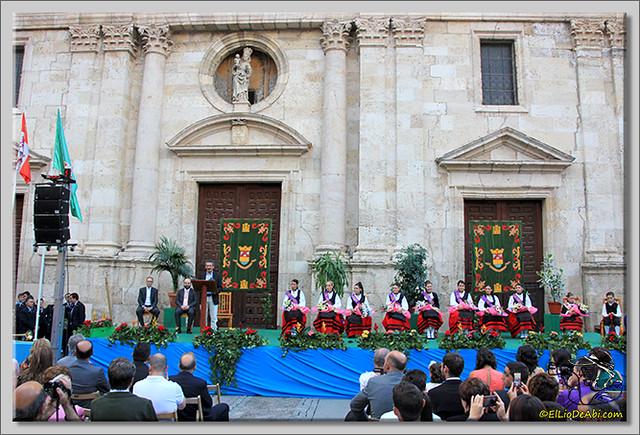 Briviesca en Fiestas 2.015 Proclamación de las Reinas y lectura del Pregón (25)