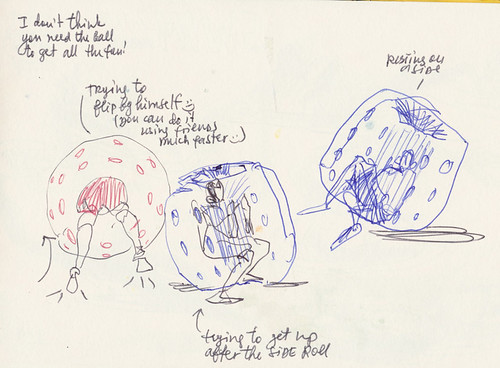 Sketchbook #91: Bubble Soccer