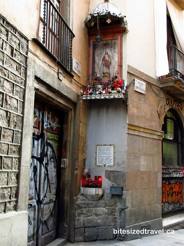 Baixada de Santa Eulalia Barcelona