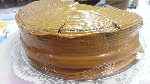 Salted Caramel Cake of Happy Cakes - DavaoFoodTrips.com