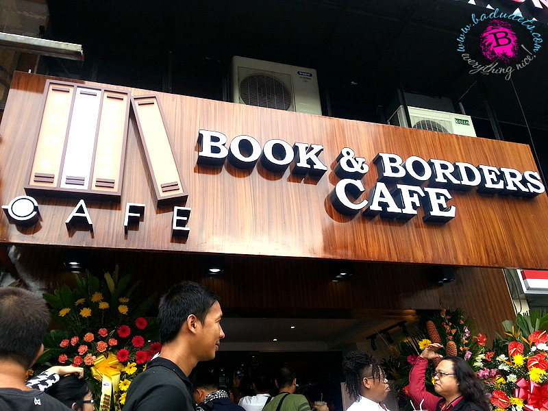 book and borders cafe tomas morato quezon city