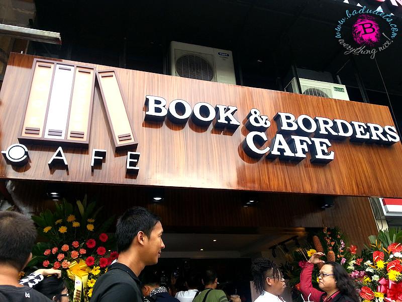 book and borders cafe tomas morato quezon city