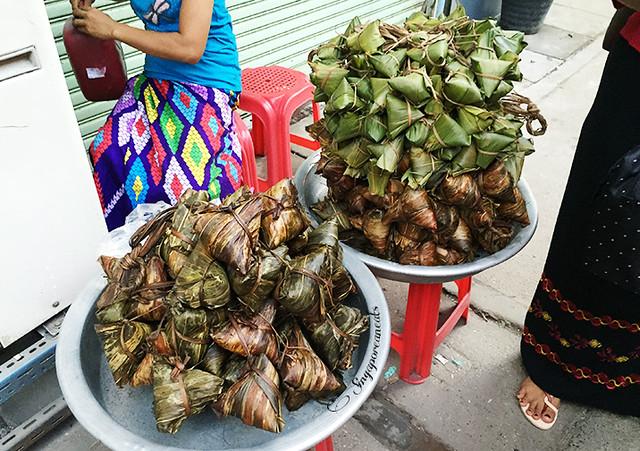 Yangon Chinatown - dumplings