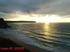 Atardecer en la playa de Los locos by antequus