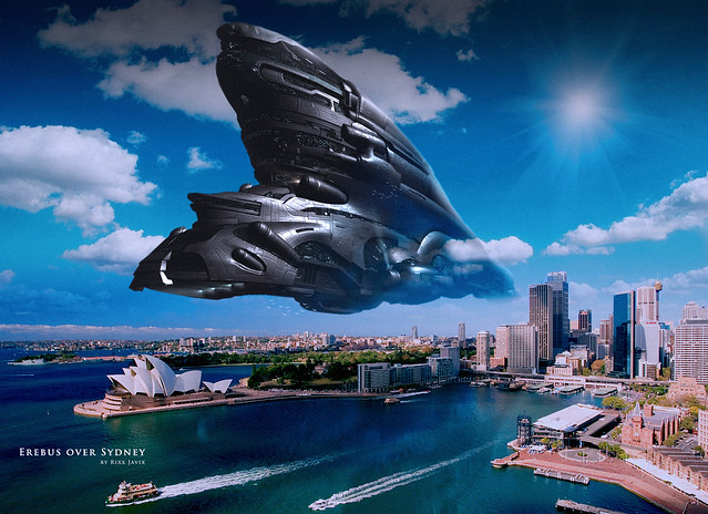 Erebus Over Sydney