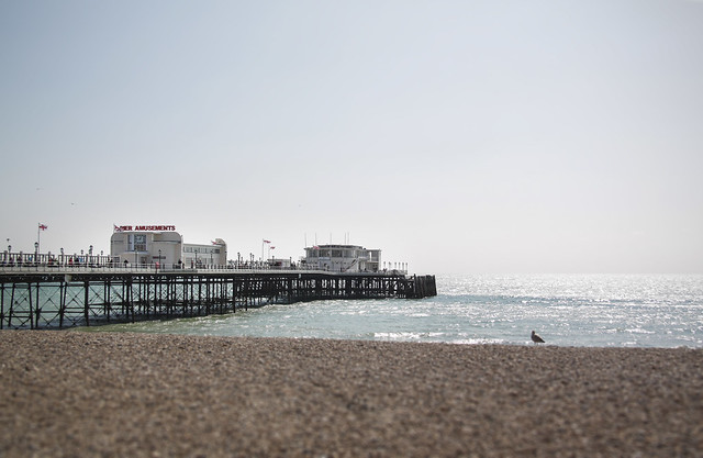 Worthing beach