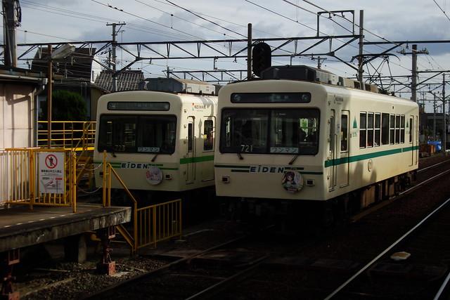 2015/09 叡山電車×わかばガール ヘッドマーク車両 #22