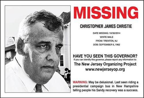 MISSING: Gov Chris Christie