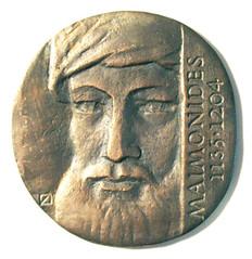 Maimonides medal obverse