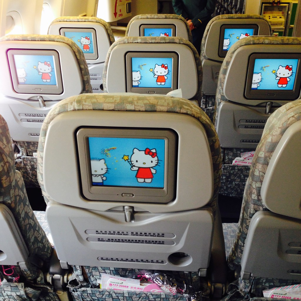 EVA Air Hello Kitty Jet