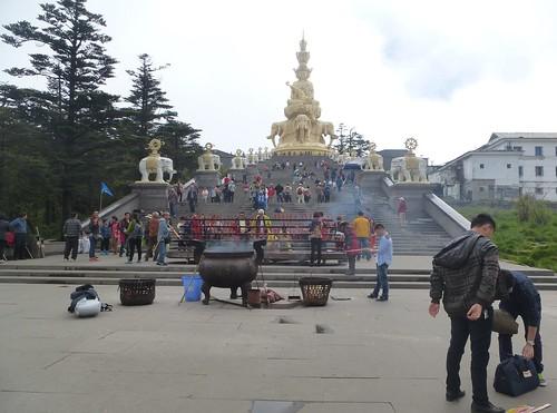 CH-Emeishan-jr2-Sommet d'or-Samantabhadra (3)
