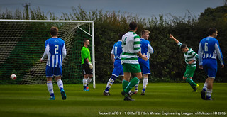 Cliffe FC 1 - 7 Tockwith AFC 17Oct15