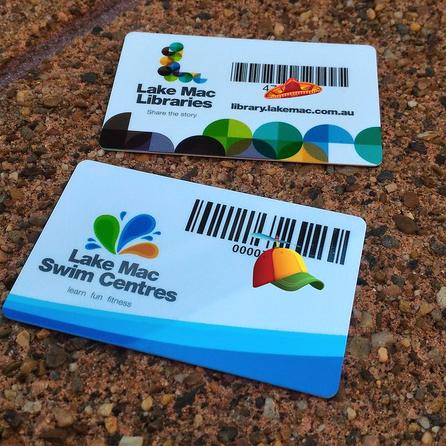 Swimming and Library Cards